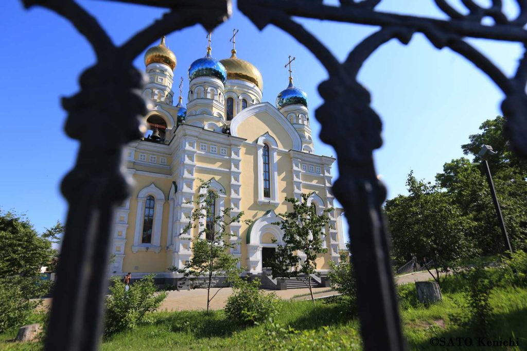023 ウラジオストクのロシア正教会 その1(パクローフスキー教会)
