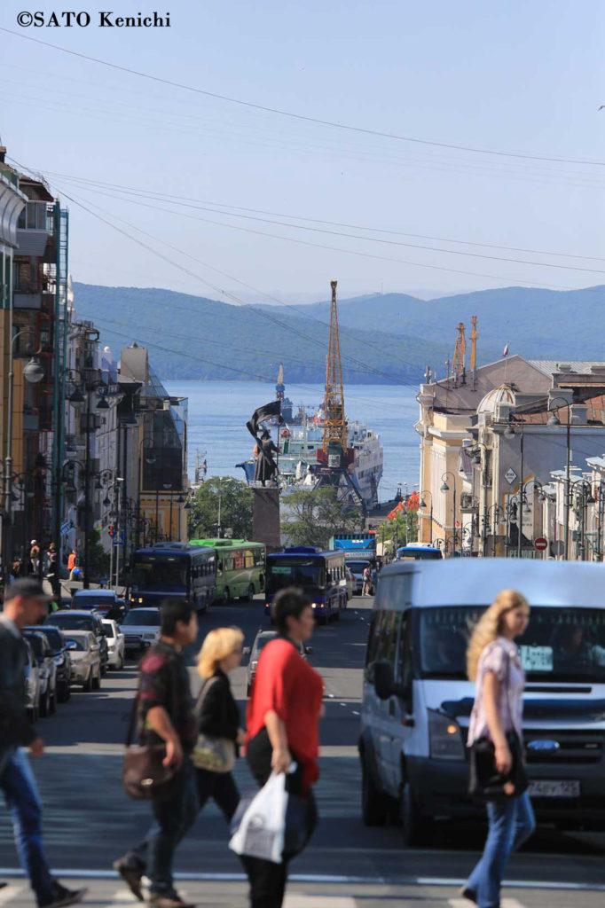 013 ウラジオストクは坂の多い港町