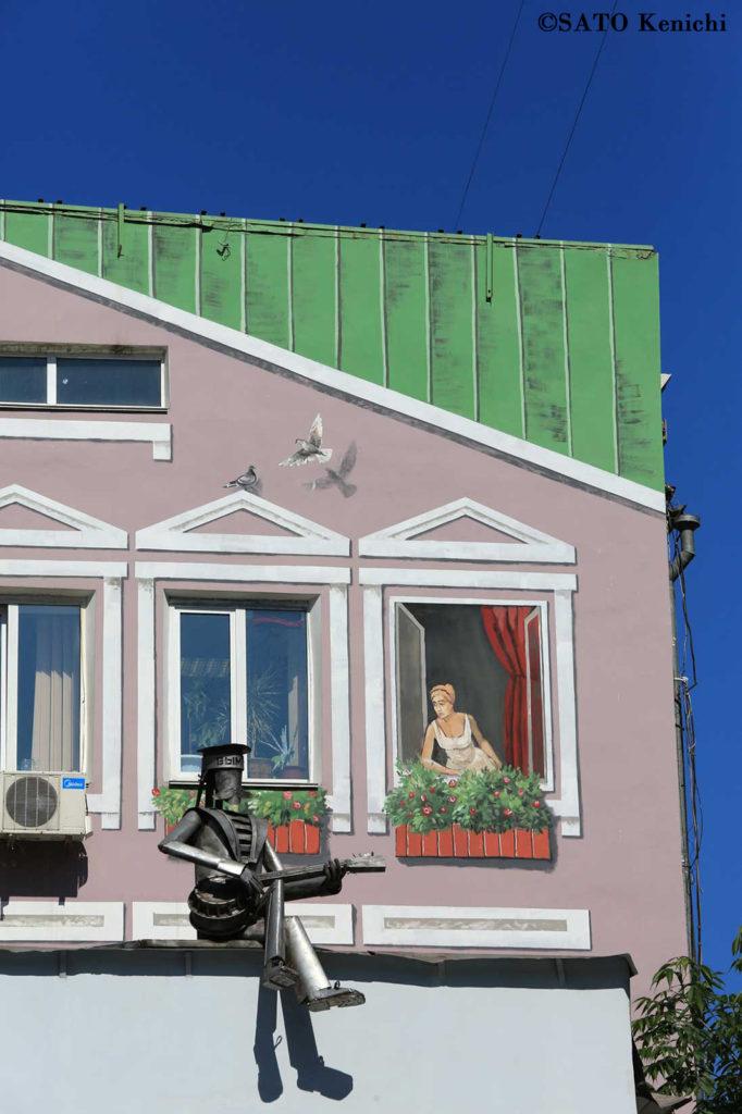 014 ウラジオストクはストリートアートがあふれる町