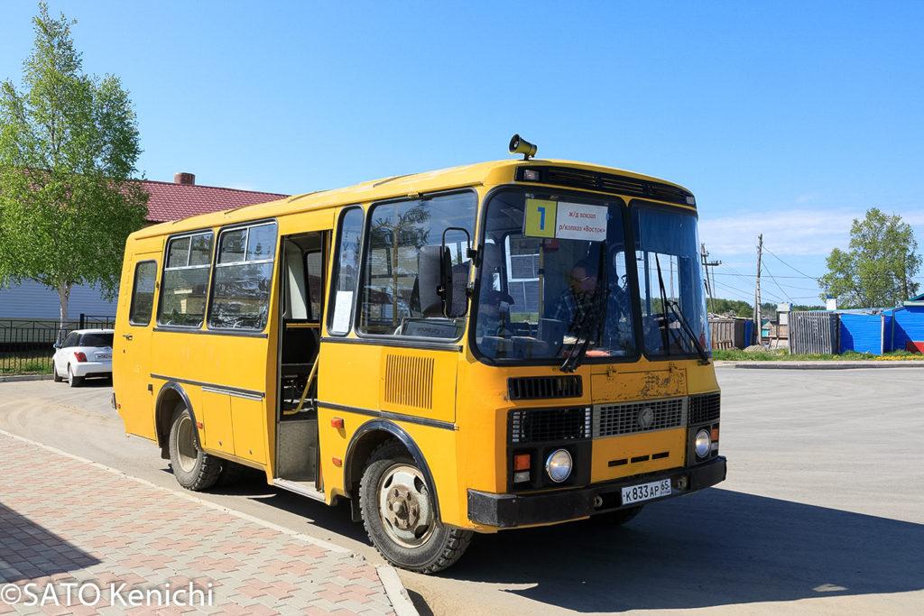 251 ノグリキの路線バスに乗る