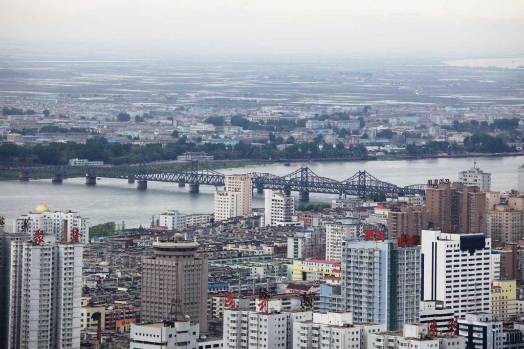 016 丹東-中朝国境最大の町